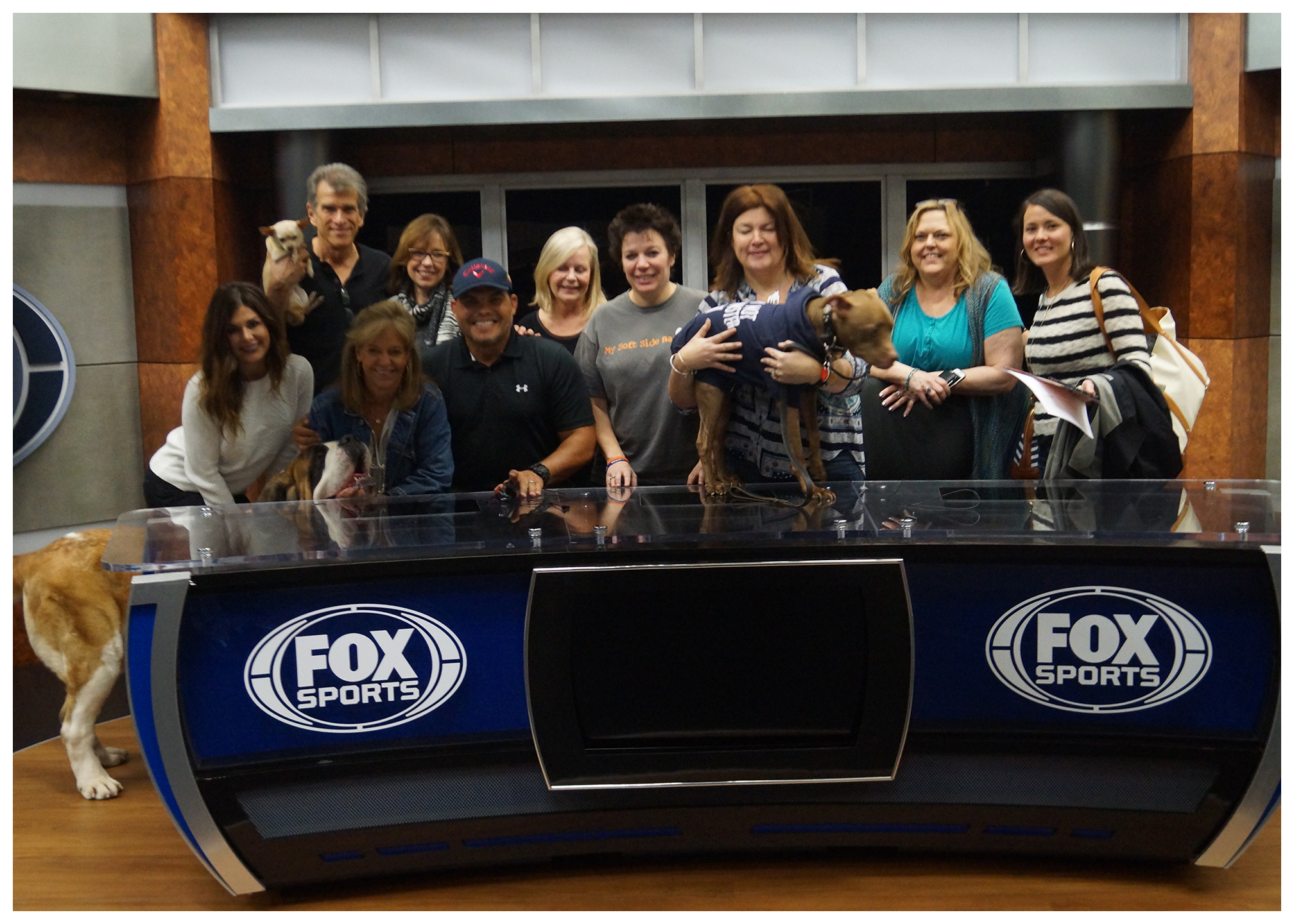 Show Your Soft Side - Photo Shoot at FOX Sports Southwest